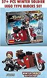 #7: Toy-Station - Super Hero Lego Type Blocks (Winter Soldier Motorcycle)