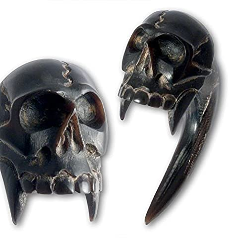 Fly Style® Expander Horn Claw – Vampire Skull – Pack of 1 Size:10 mm