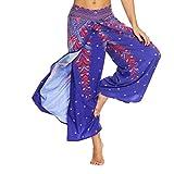 38ba2bb7ee68 SOMESUN Pantaloni Larghi Di Yoga Allentati Estate Delle Donne Pantaloni  Della Tuta Aladdin Dei Boho Casual