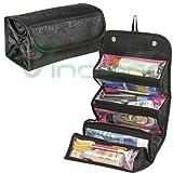 Borsa organizer viaggio ROLL N GO cosmetic bag Nera beauty trucco make up donna immagine