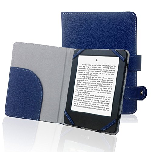 Book Style Litch PU Leder Tasche für 15,2 cm eBook Reader Case Cover für Sony/Kobo/Pocketbook/Nook/Tolino 15,2 cm eBook Reader - Sony Ebooks Reader Für