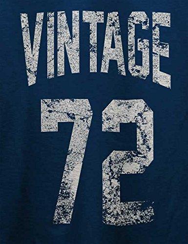 Vintage 1972 T-Shirt Navy Blau