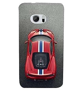 PrintVisa Family Modern Car 3D Hard Polycarbonate Designer Back Case Cover for HTC 10 :: HTC One M10