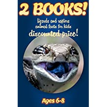 2 Bundled Books: Facts About Lizards & Raptors For Kids Ages 6-8: Amazing Animal Facts And Pictures: Clouducated Blue Series Nonfiction For Kids (English Edition)