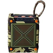 Skullcandy Shrapnel - Altavoz portátil (recargable, con Bluetooth, resistente a los golpes y a la humedad)