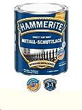 750 ml Hammerite Direkt auf Rost Metall-Schutzlack Weiß, Matt