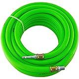 Airline Air Hose High Vis soft rubber 8mm 15m 50ft compressor hose BERGEN AT876