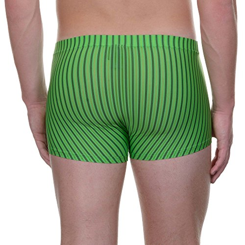 bruno banani Herren Pants Short Rumba Grün (grün Stripes 686)