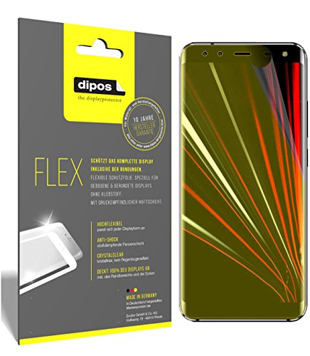 dipos I 3X Schutzfolie 100% passend für HOMTOM S8 Folie (Vollständige Displayabdeckung) Displayschutzfolie
