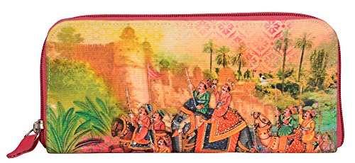 Eco Corner - Indian Art Parade - Hand Clutch - 100% Cotton / Washable / Eco Friendly / Premium Quality / Printed...