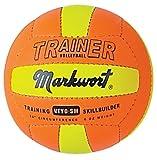 Markwort Leichtes Volleyball Trainer, kleine Maurerkelle, 4.8-ounce, orange/gelb
