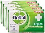 Dettol Original Bar Soap (75GM, Pack of 4)