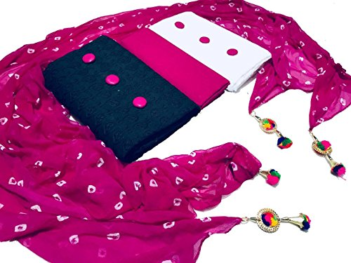 Vaankosh Fashion Women's Combo Set of 2 Kurti Dress Material with 1...