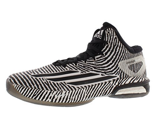 Adidas Crazy Light Boost-Herren-Basketball-Schuh 6,5 WeiÃ?-Schwarz