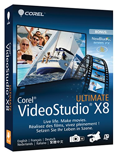Corel VideoStudio Ultimate X8 (Studio Corel Video Ultimate)