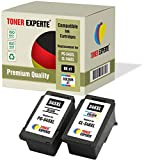 Pack 2 XL TONER EXPERTE® Compatibles PG-545XL CL-546XL Cartouches d'encre pour Canon Pixma MG2450 MG2550 MG2550S MG2950 MG3050 MG3051 MG3052 MX495 iP2850 TS205 TS3150 TS3151 TR4550 (Noir, Couleur)