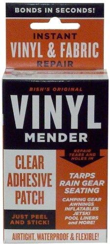 tear-mender-brt-1-bishs-original-vinyl-mender-clear-adhesive-patches-40-sq-inches