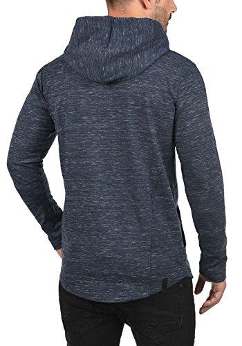 REDEFINED REBEL Mickey Herren Kapuzenpullover Hoodie Sweatshirt mit Kapuze aus hochwertiger Materialqualität Meliert Navy
