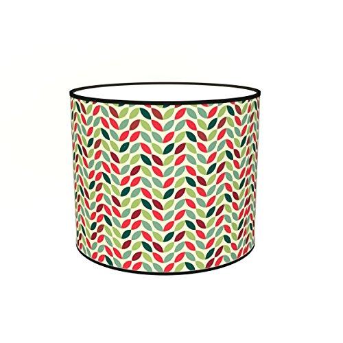 Abat-jours 7111304946215 Imprimé Chloé Lampadaire, Tissus/PVC, Multicolore