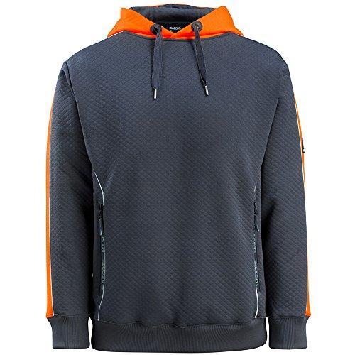 "Preisvergleich Produktbild Mascot Kapuzensweatshirt ""Motril"", 1 Stück, L, dunkelblau / orange, 50124-932-01014-L"