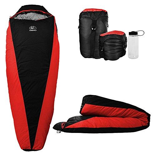 Outdoor Vitals OV-Light 20°F Saco de Dormir Ultraligero para Mochila, Ligero y Compacto para Senderismo y Camping, Aislamiento Premium