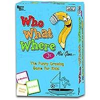 University Games Who What Where Jr Mini Game