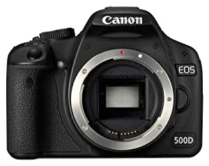 Canon EOS 500D SLR-Digitalkamera (15 Megapixel, LiveView, HD-Video) Gehäuse