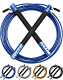 Best Crossfit Speed Jump Ropes - RDX Skipping Rope Adjustable Steel Gym Jump Speed Review