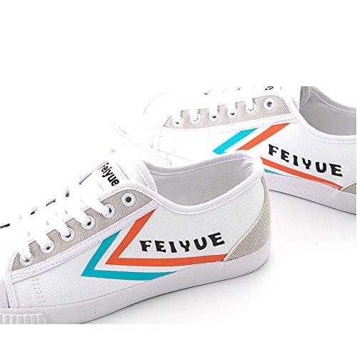 Feiyue Herren Sneaker Orange-blue logo
