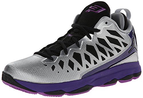 Nike chaussures de football enfant HYPERVENOMX PHADE III 852583-001 Argent - lila,silber