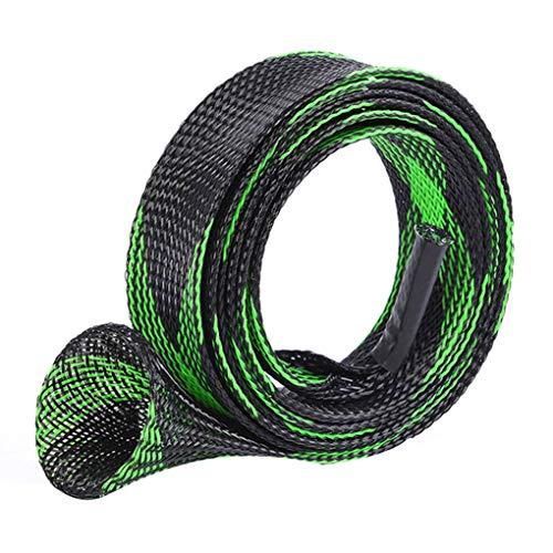 Lidahaotin Werkzeuge 30mm 170cm Expanable Angeln geflochtenes Netz Wrap Casting Angelrute Hülsen-Abdeckung Pole Glover-Schutz-Beutel