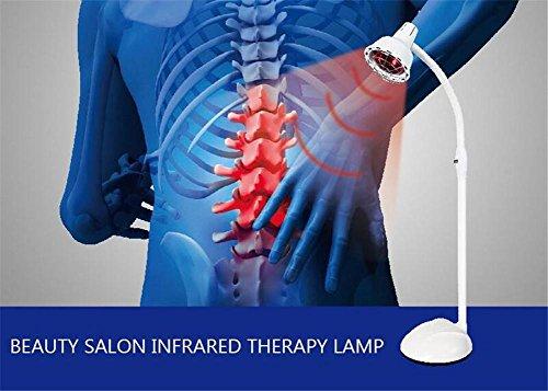 Tief-körper-wellen - (biofamily Infrarot-Schulter Bund Schmerzlinderung Projektor Behandlung Flexarm Lampe-Ofen (275W) Double)