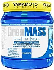 Yamamoto Nutrition CreaMASS integratore alimentare che apporta 100% creatina monoidrato gusto Neutro 500 g