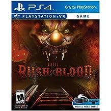 Sony Until Dawn Rush Blood PS4 VR Básico PlayStation 4 vídeo - Juego (Básico, PlayStation 4, Tirador/Horror, M (Maduro), Supermassive Games, Sony)