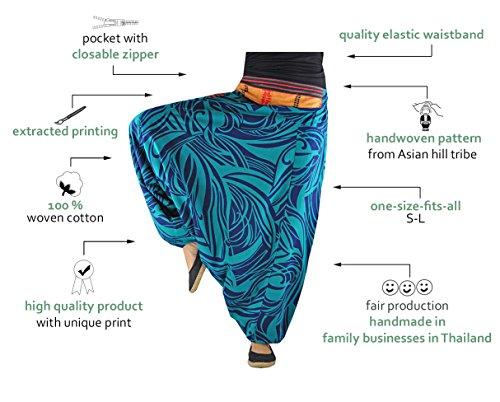 ▷ Pantalones bombachos virblatt hombre y mujer con estampados y ... 23b14a7ba1c