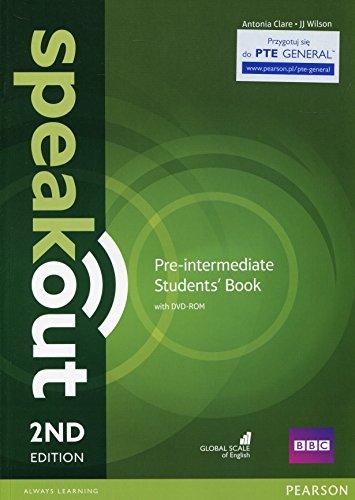 Speakout. Pre-intermedaite. Student's book. Con espansione online. Per le Scuole superiori. Con DVD-ROM