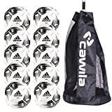 10er Ballpaket adidas Team Glider Fußball, Gr. 5