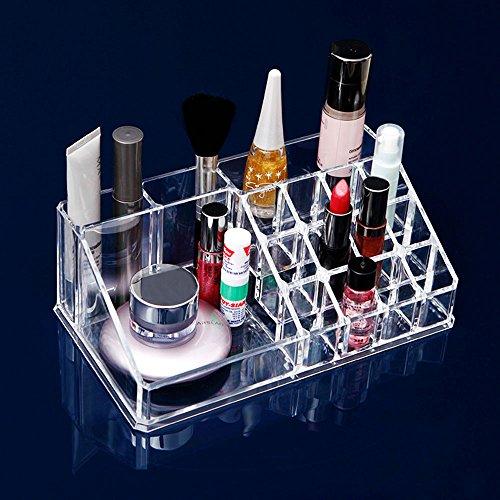 Hifina Rangement Acrylique / Rangement Maquillage Organisateur / Organisateur Maquillage Acrylique pour Maquillage