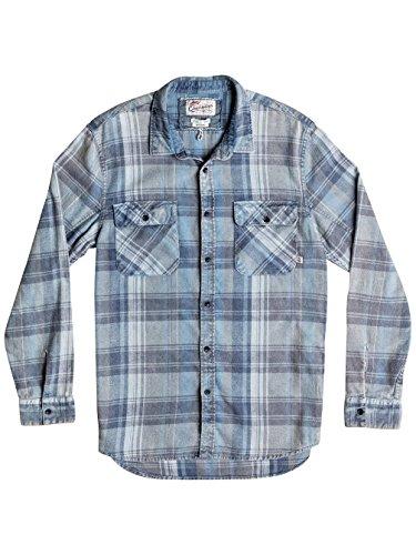 Quiksilver Shirts - Quiksilver Happy Flannel Shirt - Happy Wild Ginger happy captains blue