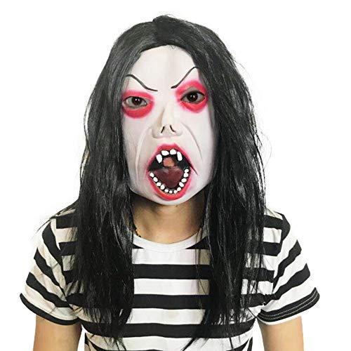 Verrückte Augen Kostüm - SAILORMJY Maske Halloween, Cosplay Maske Horrormaske
