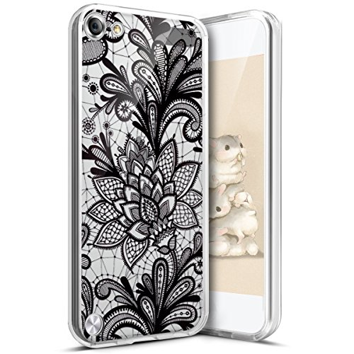 iPod Touch 6G Hülle,iPod Touch 5G Hülle,iPod Touch 6/5 Schutzhülle,Surakey iPod Touch 6G TPU Hülle Silikon Schutzhülle Kristallklar Durchsichtig, Bunte Kunst Gemaltes Muster Transparent Handyhülle Liquid Crystal Ultra Dünn Crystal - Fällen 5 Kinder-ipod