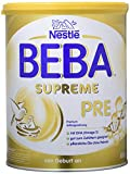 Nestlé Beba Supreme Pre Anfangsmilch, von Geburt an, trinkfertiges Pulver, hypo-allergene Säuglingsnahrung, mit Omega 3, 1er Pack (1 x 800g)