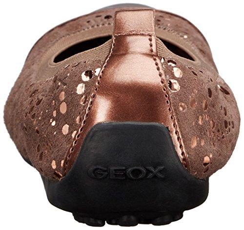 Geox Piuma B, Ballerines Fille Braun (SMOKE GREYC9006)
