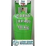 * Nuevo * gas R449A peso neto 10 kg reemplazo recargable cilindro R404A R507