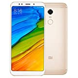 Xiaomi Redmi 5 SIM doble 4G 32GB Oro - Smartphone (14,5 cm (5.7'), 1440 x 720 Pixeles, 32 GB, 12 MP,...