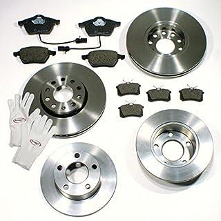 Autoparts-Online Set 60005504 Bremsscheiben 1LF 1KP Bremsen + Bremsbeläge für Vorne + Hinten