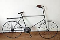 F&G Supplies Fantastic large (1m long) metal gents retro bicycle metal wall or garden art - great statement piece! by STC