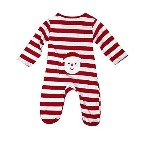 Koly_Manica lunga Natale tuta del bambino vestiti rampicanti