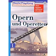 MasterPlayAlong, Opern und Operetten 1, CD-ROMs : Flöte, 1 CD-ROM Für Windows 95/98