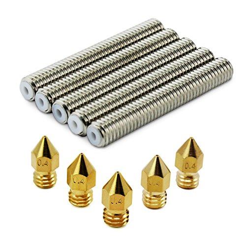 Aussel-M6x40-Barrel-Acier-inoxydable-Gorge-Gorge-04-mm-Buse-dextrudeuse-en-laiton-pour-limprimante-3D-Makerbot-MK8